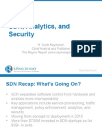 SDN Analytics & Security -R. Scott Raynovich, The Rayno Report