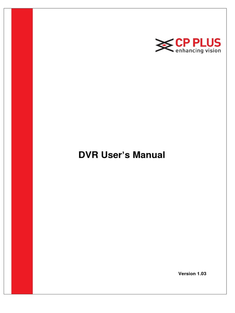Cp plus dvr user's manual v1. 03   computer keyboard   computer network.