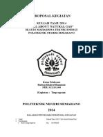 Proposal Kuliah Tamu 2014