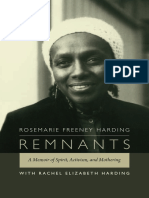 Remnants by Rosemarie Freeney Harding with Rachel Elizabeth Harding
