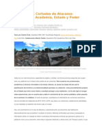 Opinion Los Puentes Cortados de Atacama - Camilo Prats