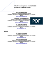 Plan de Administración de Integridad y Confiabilidad de Infraestructura Logística