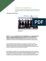 30-03-2015 Puebla Noticias - RMV Inicia Colecta 2015 de La Cruz Roja Mexicana