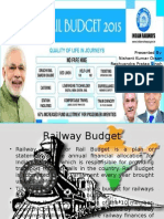 Railway Budget of 2015-16