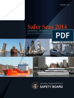 Safer Seas 2014 Lessons Learned from Marine Accident Investigations