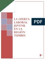 Estudio Final-La Oferta Laboral Juvenil en La Region Tumbes- Octubre 2013