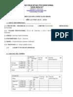 Planificacion Fisica Quimica 2do 2014 2015