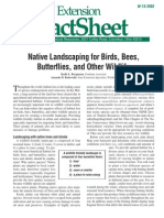 (Gardening) Native Landscaping for Birds, Bees, Butterflies, And Other Wildlife