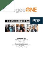 refugeeone co-sponsorship packet 2015