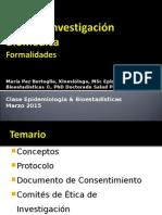 Ética en Investigación Biomédica