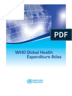 6-WHO Global Health Expenditure Atlas