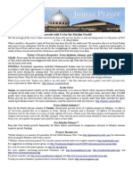 Jumaa Prayer Bulletin April 3, 2015