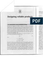 Designing Reliable Products I
