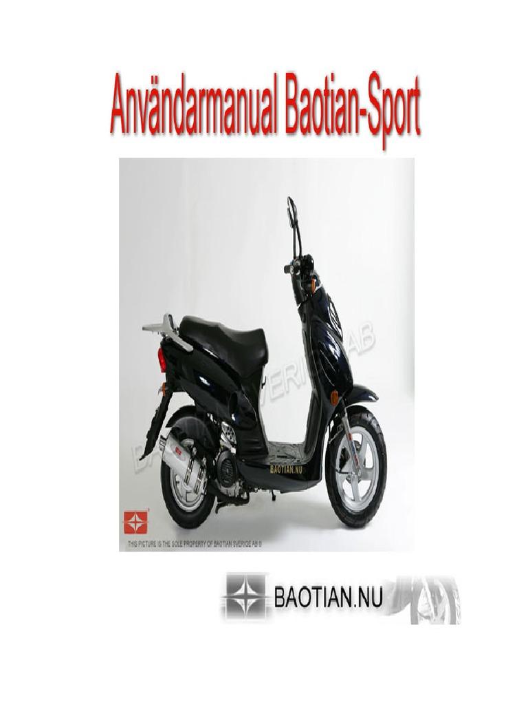 Baotian Bt49qt-20b2 Manual