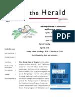 April 2015 Herald