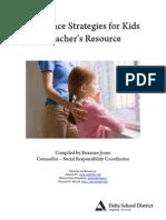 resilience strategies for teachers print version