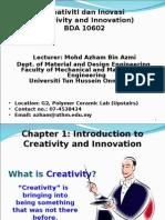 Chapter 1 Creativity OK
