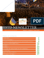 ESTD Newsletter Volume3 Number 6 March 2014