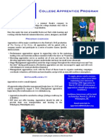 DSF Apprentice Info Page