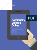 New America Foundation | Community College Online
