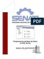 Manual SQL Server - Senati