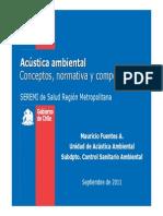 PPT05 Normativa Ruido Gob Chile