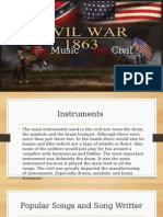 the music of the civil war