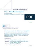 Model Predictive control Notes