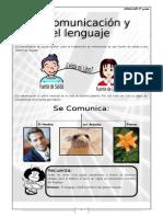la comunicación y el lenguaje