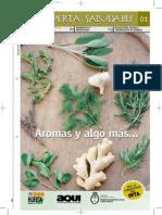 Hierbas Aromáticas en La Huerta