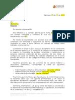Carta de Despido Por Necesidades de La Empresa Web