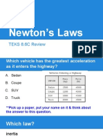 newton's laws review 8 6c