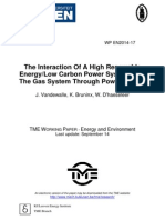 The Interaction of a High RE With the Gas System Through PtG