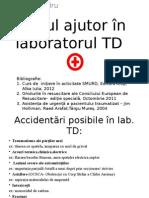 Primul Ajutor În Laboratorul TD