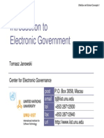 Modulo 1.Introduction to Electronic Government Completo