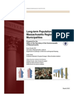 Long Term Population Projections Report 2015