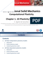 Chapter 1. 1D Plasticity Models v1.0