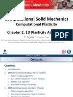 Chapter 2. 1D Plasticity Algorithms v1.0