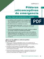 Anticonceptivos de Emergencia