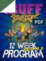 BUFF DUDES 12 WEEK HOME And GYM PLANpdf