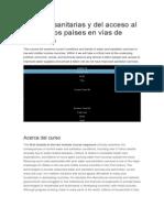 Políticas Sanitarias y Del Acceso Al Agua en Los Países en Vías de Desarrollo 1905014