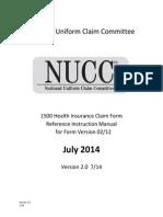 1500 claim form instruction manual 2012 02-v2