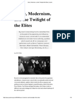 Music, Modernism, And the Twilight of the Elites _ Jacobin
