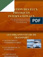 LA GESTION DES FLUX PHYSIQUES INTERNATIONAUX 06