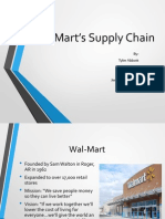scm wal-mart presentation