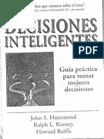 Decisiones Inteligentes Hammond Keeney y Raiffa PDF