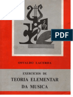 1 Osvaldo Lacerda - Exercícios de Teoria Elementar Da Música Part 1
