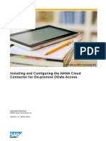 Installing and Configuring the HANA Cloud Connector for On-premise OData Access.pdf