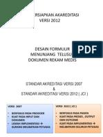 Desain Formulir Menunjang JCI