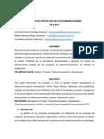 Gestión de Proyectos en Telecomunicaciones